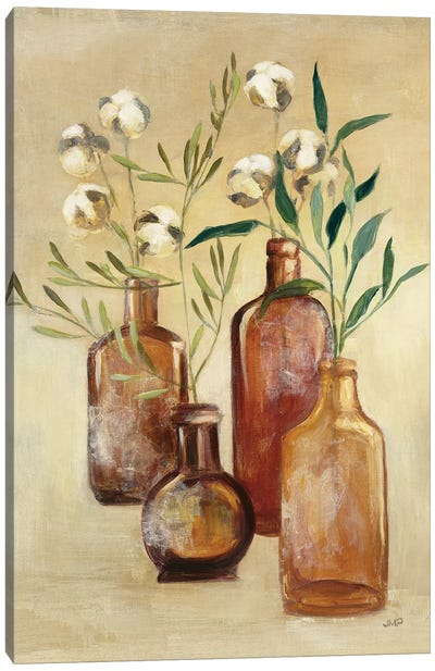 Cotton Still Life II Canvas Art Print
