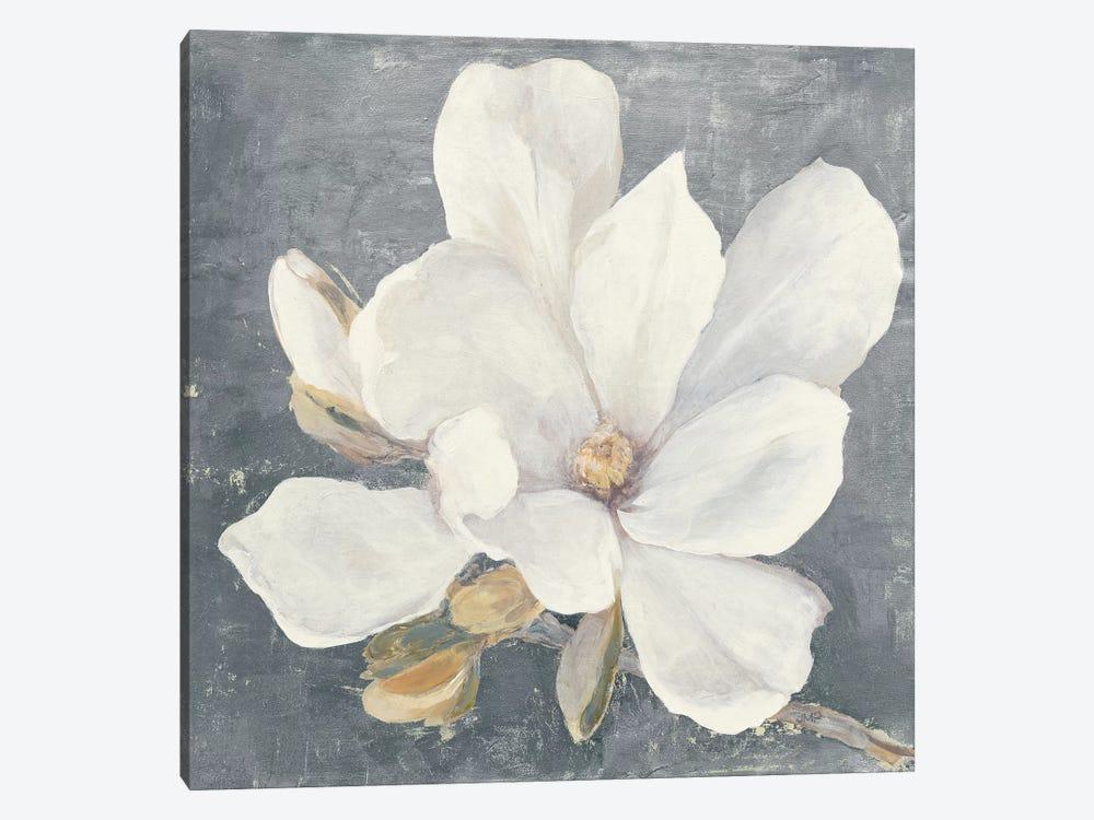 Serene Magnolia Gray by Julia Purinton 1-piece Art Print