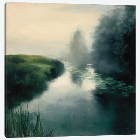 Twilight Fog Neutral Canvas Print #JPU43} by Julia Purinton Canvas Art