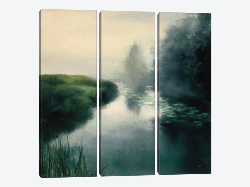 Twilight Fog Neutral by Julia Purinton 3-piece Canvas Art Print