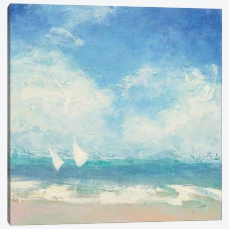 Rounding the Buoy Canvas Print #JPU47} by Julia Purinton Canvas Print
