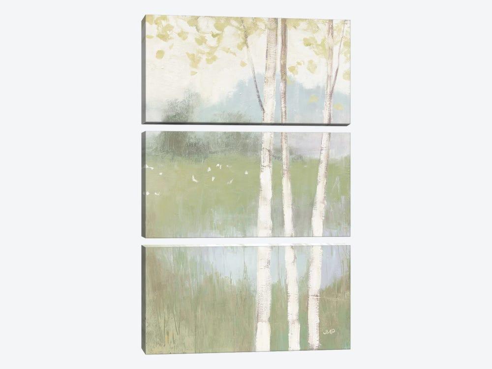 Spring Fling II Cool Crop by Julia Purinton 3-piece Canvas Print