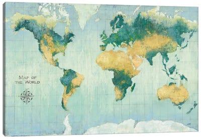 Golden Earth Canvas Art Print