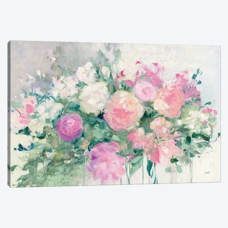 June Abundance I Canvas Print #JPU5} by Julia Purinton Canvas Wall Art