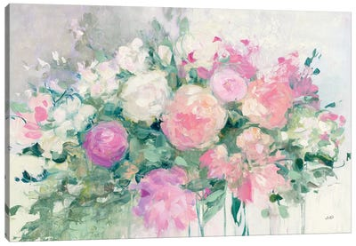 June Abundance I Canvas Art Print