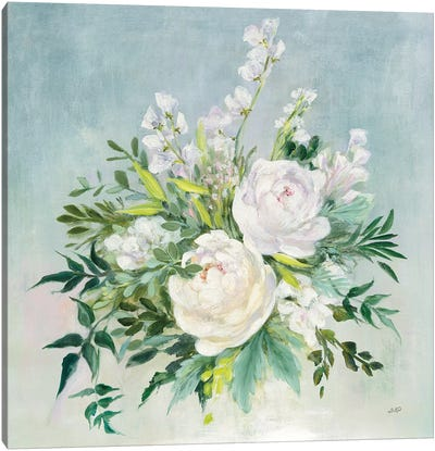 Bridal Bouquet Canvas Art Print