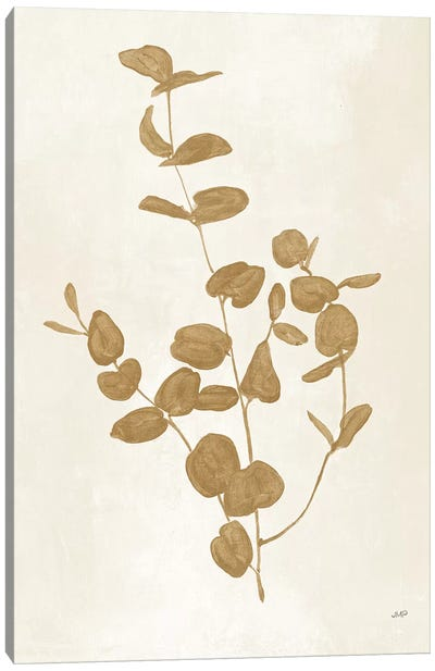 Botanical Study II Gold Canvas Art Print