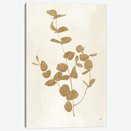 Botanical Study II Gold Canvas Print #JPU67} by Julia Purinton Canvas Print