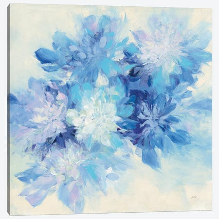Burst of Blue Canvas Print #JPU71} by Julia Purinton Canvas Art Print