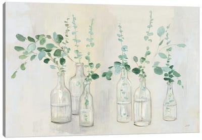 Summer Cuttings III Green Crop Canvas Art Print