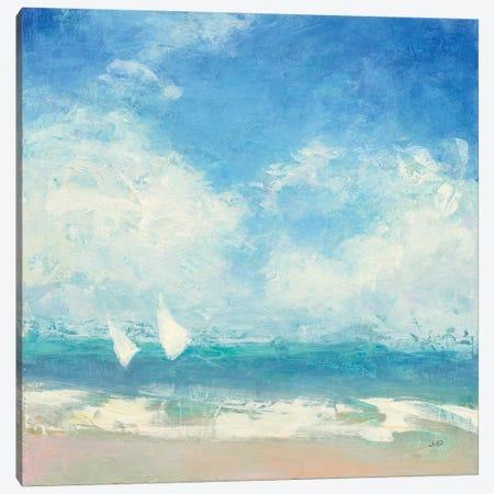 Rounding The Buoy Canvas Print #JPU7} by Julia Purinton Canvas Wall Art