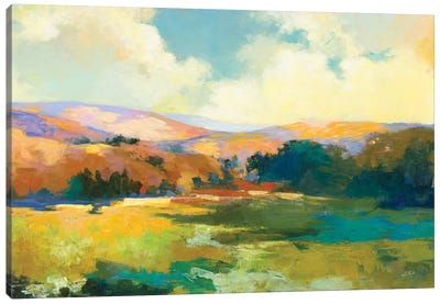 Daybreak Valley Crop Canvas Art Print