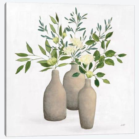 Natural Bouquet II White Canvas Print #JPU84} by Julia Purinton Canvas Art Print