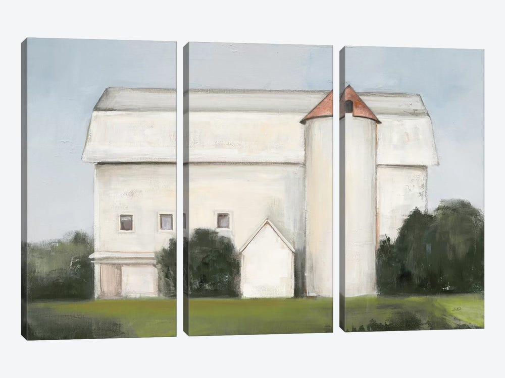 On the Farm Light by Julia Purinton 3-piece Canvas Print