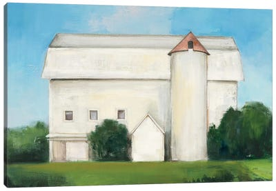 On the Farm Canvas Art Print