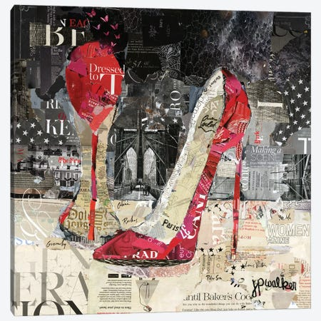 Making A Scene Canvas Print #JPW11} by Jamie Pavlich-Walker Art Print