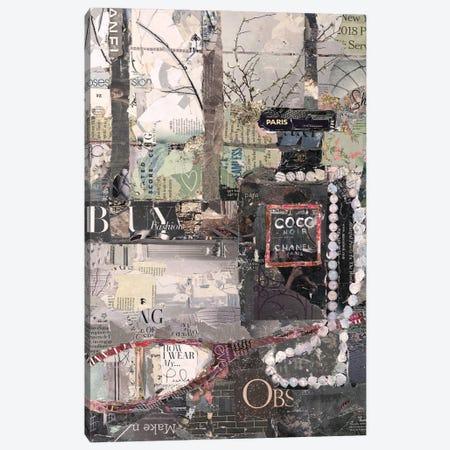 How I Wear My Pearls Canvas Print #JPW12} by Jamie Pavlich-Walker Canvas Print