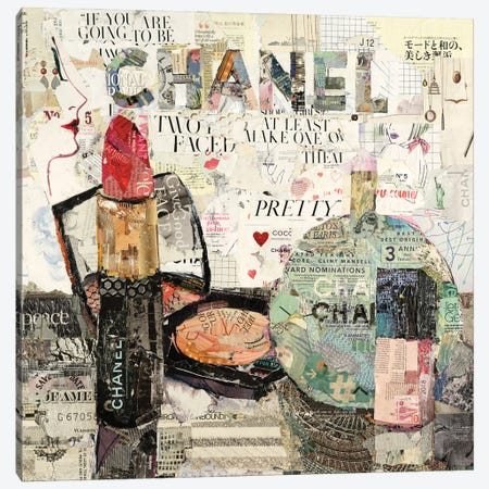 Every Woman Alive Loves Chanel Canvas Print #JPW13} by Jamie Pavlich-Walker Canvas Art Print