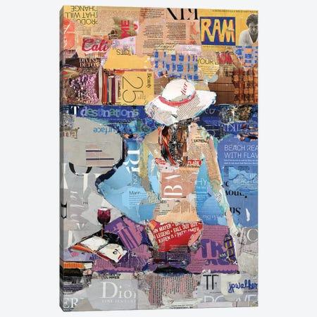 Books Of Summer Canvas Print #JPW18} by Jamie Pavlich-Walker Canvas Art Print