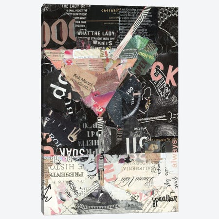 Pink Martini Canvas Print #JPW19} by Jamie Pavlich-Walker Canvas Print