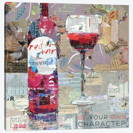 Red Wine Canvas Print #JPW36} by Jamie Pavlich-Walker Canvas Art