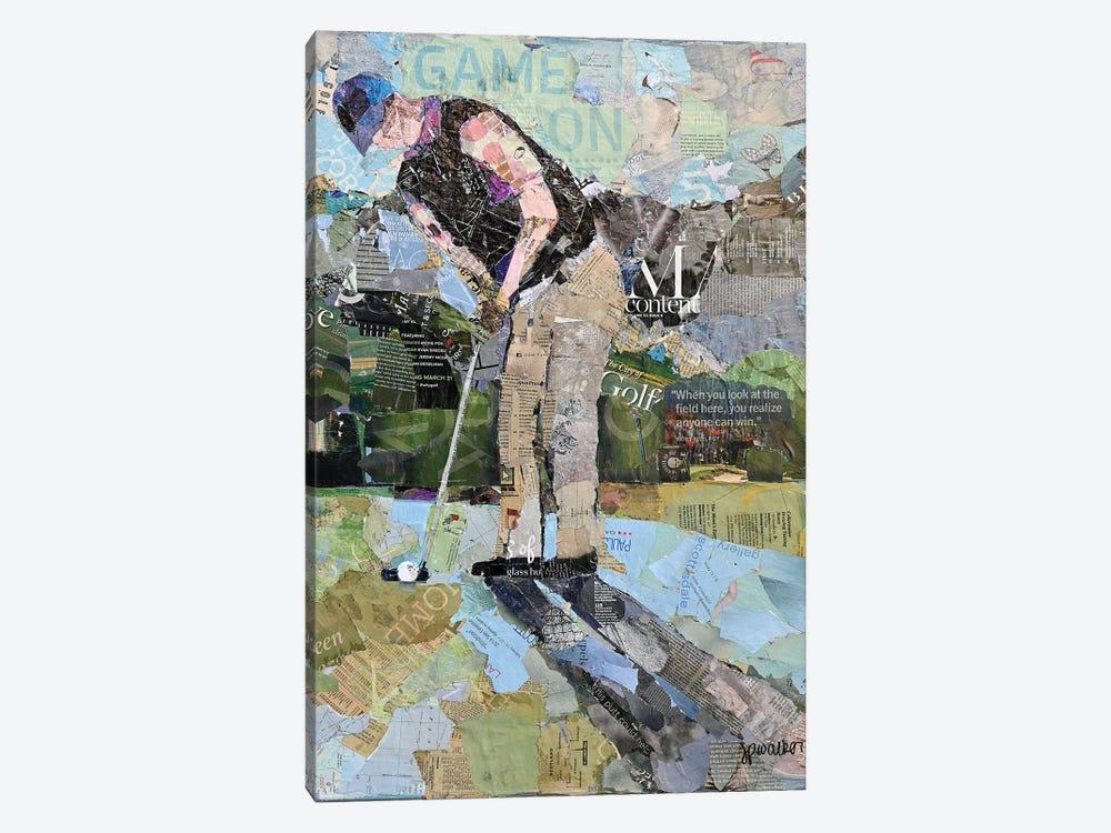 Putting For A Birdie by Jamie Pavlich-Walker 1-piece Canvas Art Print