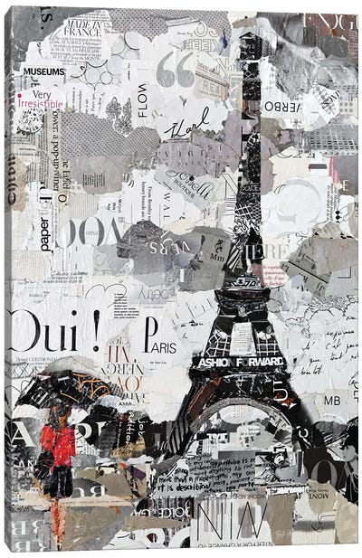 Qui Paris Canvas Art Print