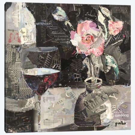 Wine & Roses Canvas Print #JPW5} by Jamie Pavlich-Walker Canvas Wall Art