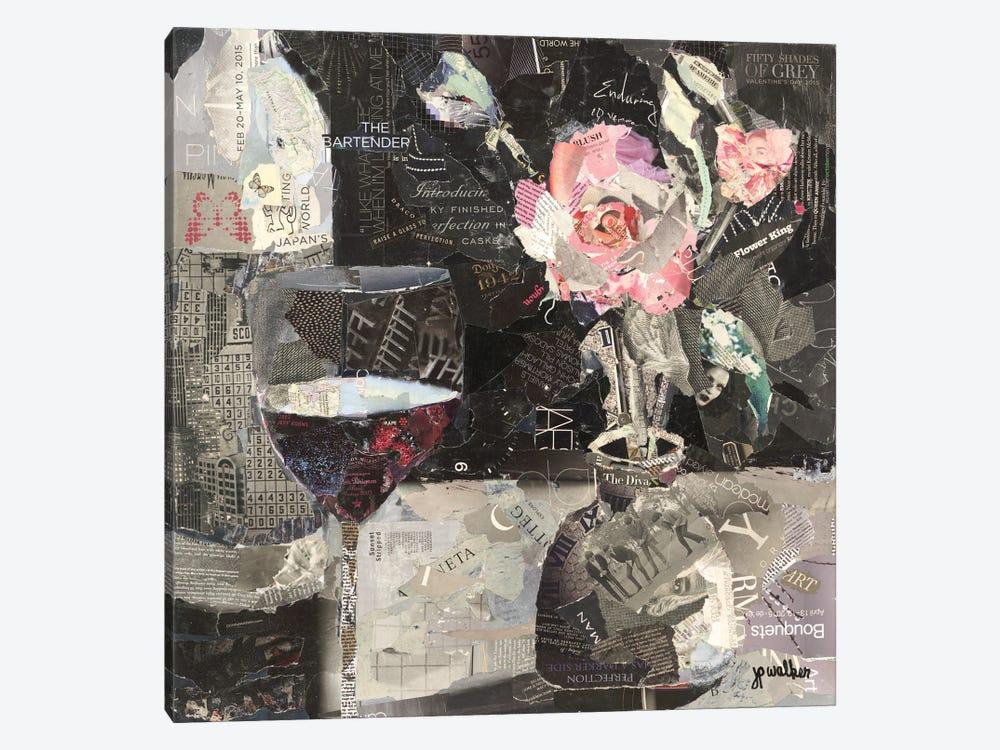 Wine & Roses by Jamie Pavlich-Walker 1-piece Canvas Print
