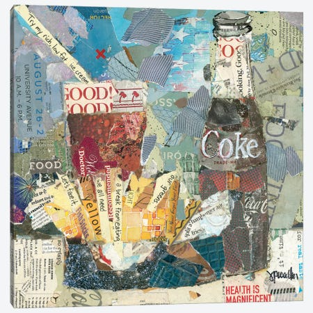 Fries & A Coke Canvas Print #JPW69} by Jamie Pavlich-Walker Canvas Artwork
