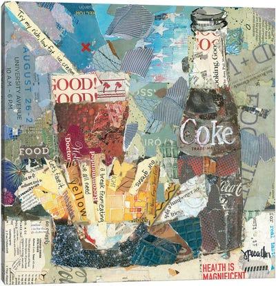 Fries & A Coke Canvas Art Print