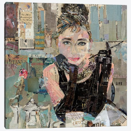 Breakfast At Tiffany's Canvas Print #JPW71} by Jamie Pavlich-Walker Canvas Print