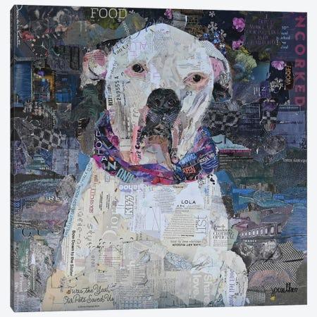 This Is Lola Canvas Print #JPW77} by Jamie Pavlich-Walker Canvas Art