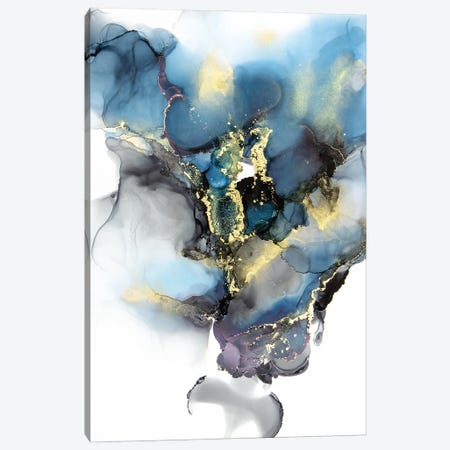 Stormy Daze Canvas Print #JPZ13} by Jamie Pomeranz Canvas Artwork