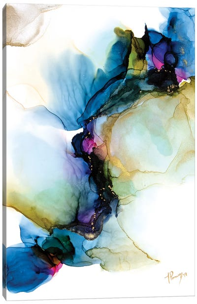 Pressed Dragonfly Canvas Art Print