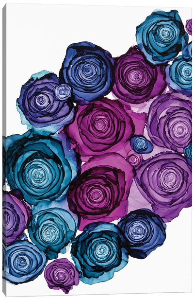 Wallflowers Canvas Art Print