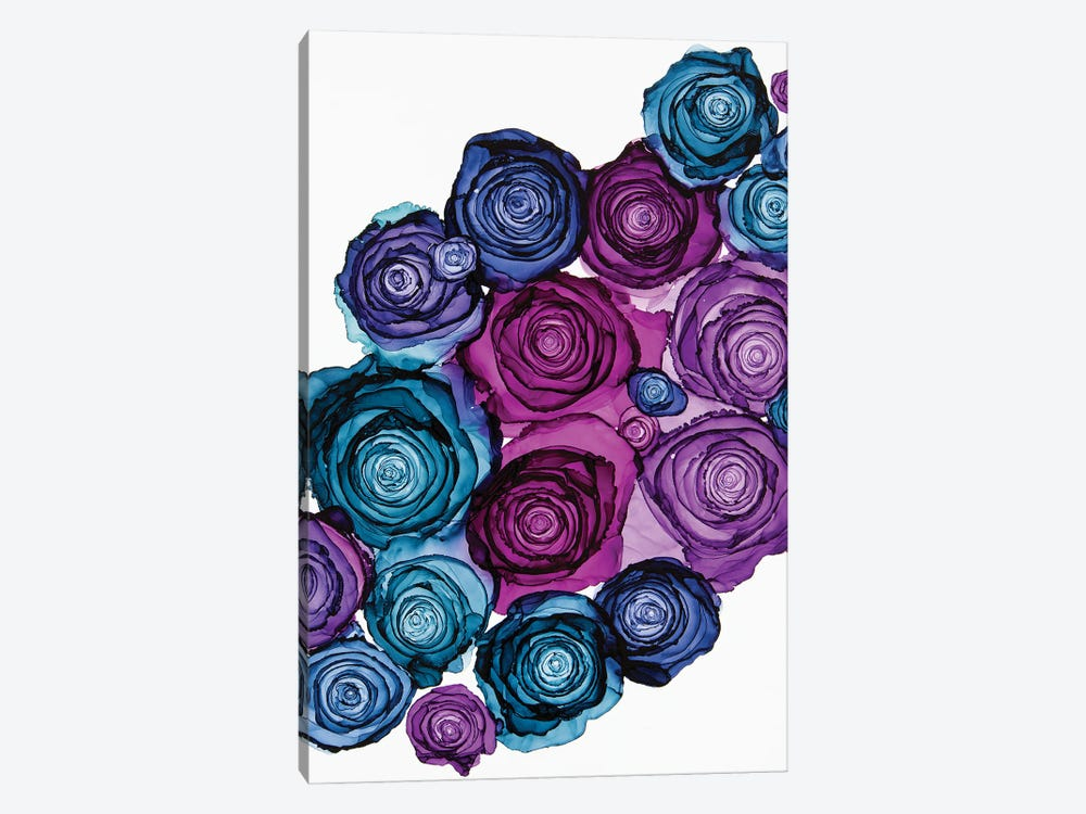 Wallflowers by Jamie Pomeranz 1-piece Canvas Art Print