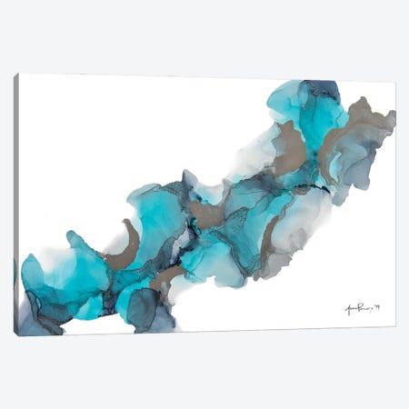 Icy Waters Canvas Print #JPZ32} by Jamie Pomeranz Canvas Art