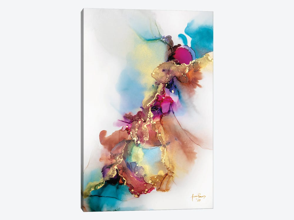 Moth To Fire by Jamie Pomeranz 1-piece Canvas Print