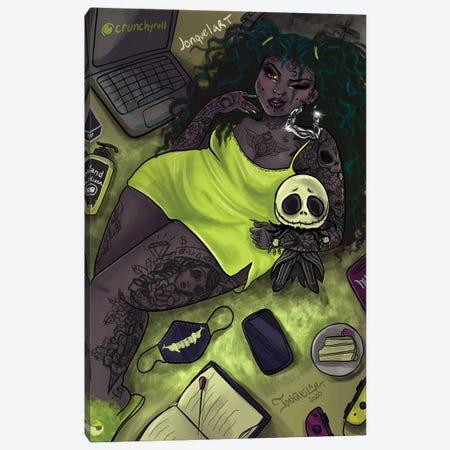 Quarantine Bae 4 Canvas Print #JQA15} by Jonquel Art Canvas Print