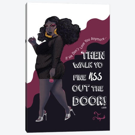 Walk Out Canvas Print #JQA37} by Jonquel Art Canvas Art Print