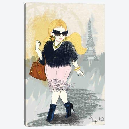Paris Bound Canvas Print #JQA40} by Jonquel Art Art Print