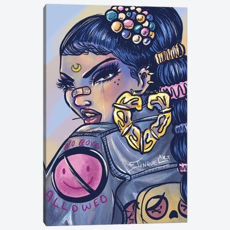 No Boys Allowed Canvas Print #JQA51} by Jonquel Art Canvas Artwork