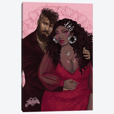 Best Part Canvas Print #JQA61} by Jonquel Art Canvas Art Print