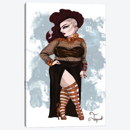 Scorpio Canvas Print #JQA8} by Jonquel Art Canvas Art Print