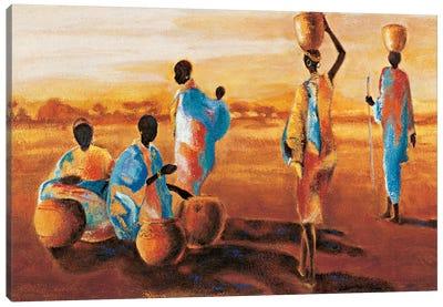 Après - Midi en Afrique Canvas Art Print