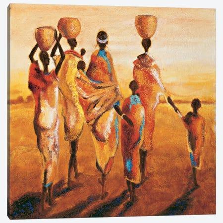 Mères et Enfants 3-Piece Canvas #JQB3} by Jaques Beaumont Canvas Artwork