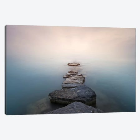 Stones Canvas Print #JQN2} by Joaquin Guerola Canvas Art