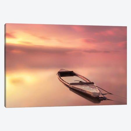 The Boat Canvas Print #JQN3} by Joaquin Guerola Canvas Wall Art
