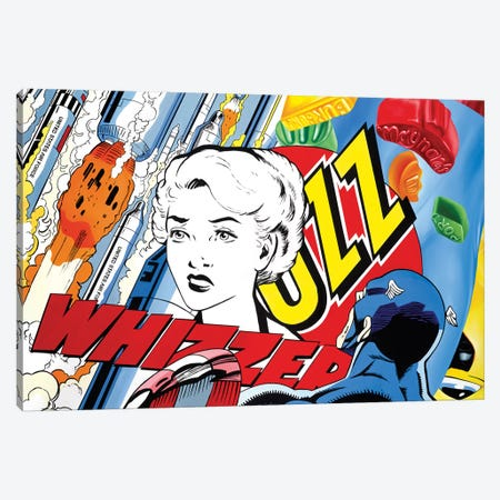 All's Fair In Love And War Canvas Print #JRA1} by Rawksy Canvas Art